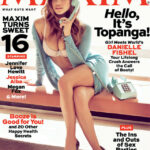 Danielle Fishel (Topanga) posa para Maxim