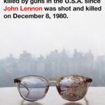 Yoko Ono comparte foto de lentes ensangrentados de John Lennon
