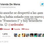 Madrileño predijo nombre del nuevo Papa un mes atras