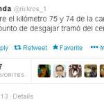 El tweet que pudo evitar una tragedia