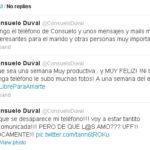Consuelo Duval pierde su celular, amenazan con revelar secretos