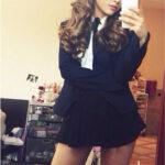Ariana Grande de colegiala