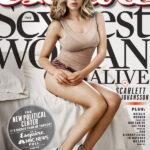 Scarlett Johansson es la mujer mas sexy de Esquire
