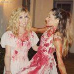 El Halloween de Ariana Grande,Liz Gillies y Jennette Mccurdy