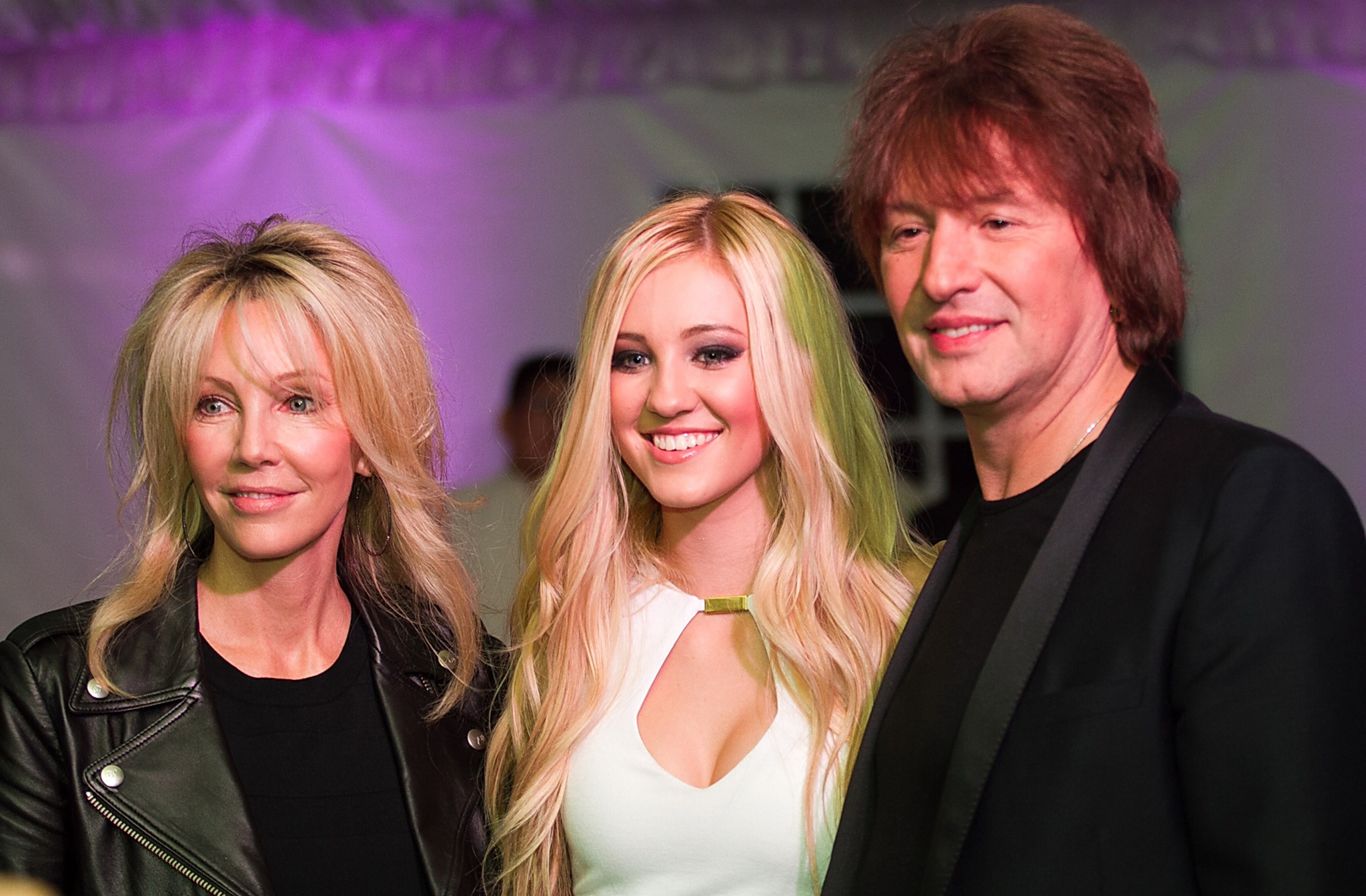 Exclusive - Heather Locklear & Richie Sambora Celebrate With Daughter Ava At Sweet 16