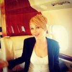 Jennifer Lawrence estrena corte de cabello