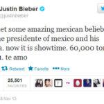 Justin Bieber se reune con Enrique Peña Nieto y familia