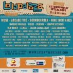 Cartel Lollapalooza Brasil 2014