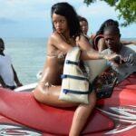 Rihanna en bikini en Barbados