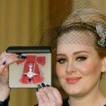 Adele recibe la Orden del Imperio Británico