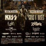 Kiss y Guns N' Roses en el festival Hell & Heaven Fest de México