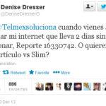 Denise Dresser amenaza con periodicazo a Telmex