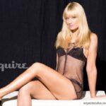 Beth Behrs de Two Broke Girls para Esquire