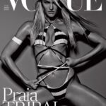 Candice Swanepoel revista VOGUE Brasil