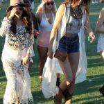 Selena Gomez y Kendall Jenner en Coachella