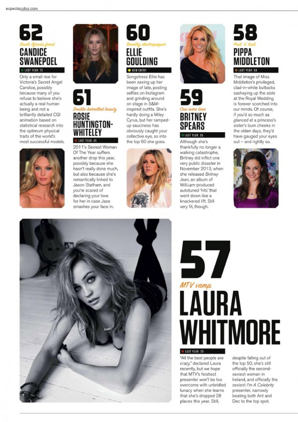 FHM UK â-- 100 Sexiest Women in the World 2014_000016