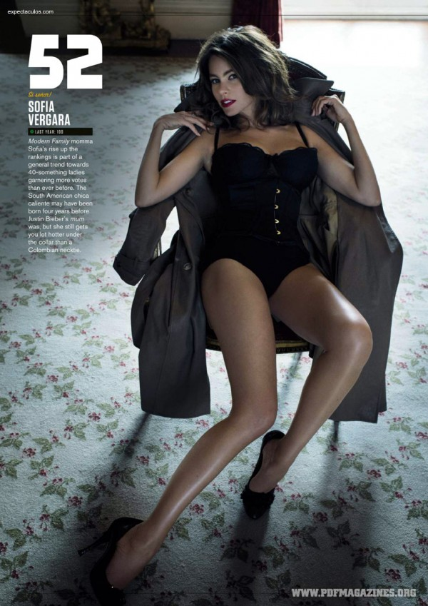 FHM UK â-- 100 Sexiest Women in the World 2014_000020
