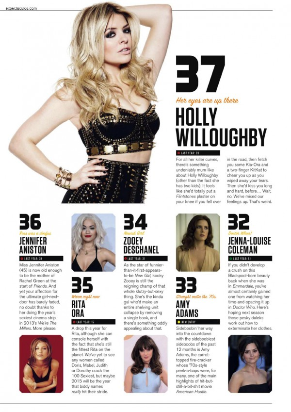 FHM UK â-- 100 Sexiest Women in the World 2014_000027
