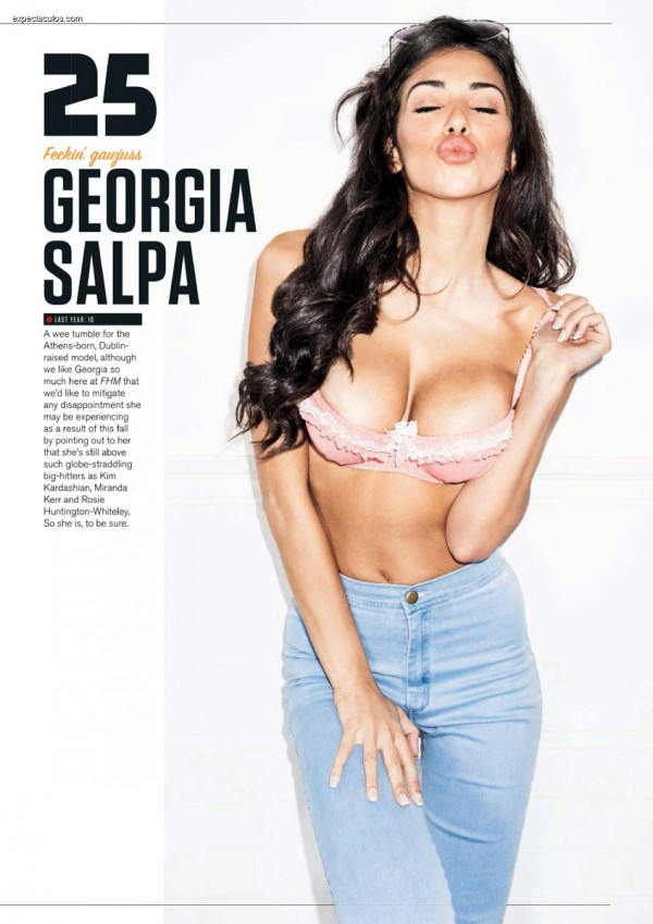 FHM UK â-- 100 Sexiest Women in the World 2014_000029