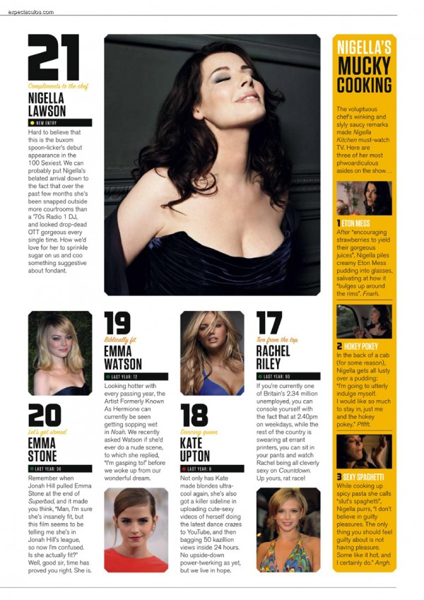 FHM UK â-- 100 Sexiest Women in the World 2014_000033