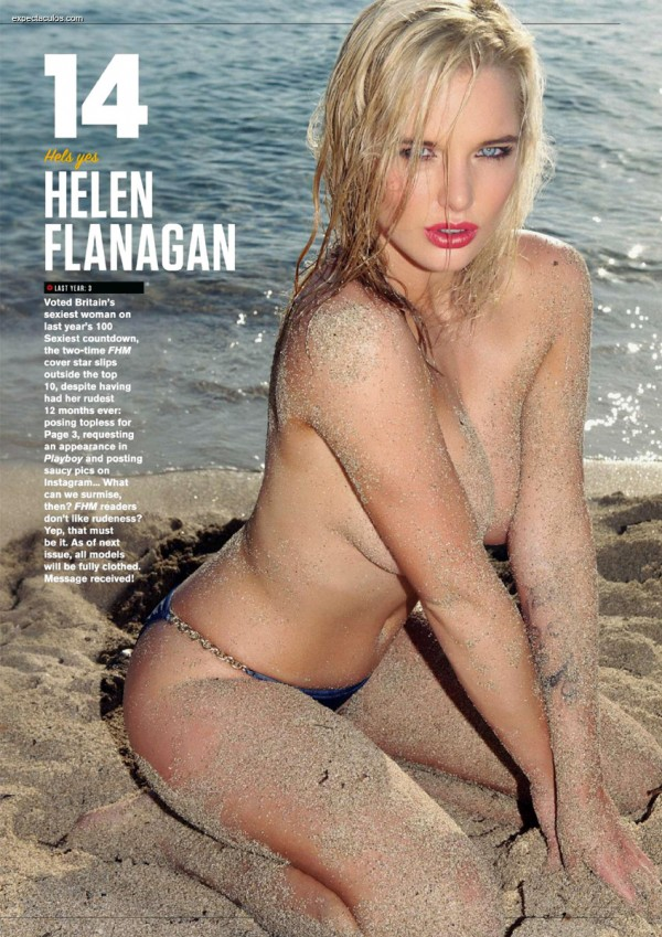 FHM UK â-- 100 Sexiest Women in the World 2014_000035