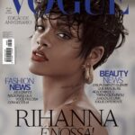 Rihanna para la revista Vogue Brasil