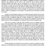 Carta de un aficionado argentino a su seleccion