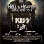 Fecha y cartel del Hell & Heaven 2014