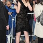 Elle Fanning con David Letterman