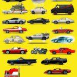Reconoces estos autos de cine y tv? ya estas ruco