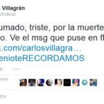 Esto escribio Carlos Villagran Kiko en las redes sociales