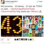 Lista de estrellas de Televisa que se han pronunciado por Ayotzinapa