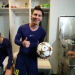 Messi ahora rompe el record de Raul Gonzalez de la Champions League