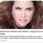 La Jornada y Terra publican nota falsa sobre Lucero vs Teleton