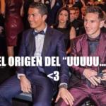 Hijo de Cristiano Ronaldo es fan de Leo Messi!