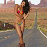 Chanel Iman en la Sports Illustrated Swimsuit Edition 2015