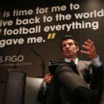 Figo propone Mundial con mas equipos y en 2 continentes