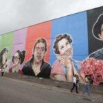 Sao Paulo dedica mural a personajes de Chespirito