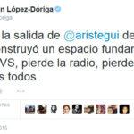 Reaccionan comunicadores al despido de Carmen Aristegui