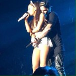 Justin Bieber abrazo a Ariana Grande y Big Sean enfurecio!