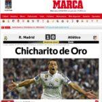 Chicharito da pase a semis al Real Madrid