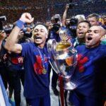 Fotos de las celebraciones del Triplete del FC Barcelona