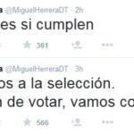 Oribe Peralta y el Piojo Herrera llaman a votar por el verde