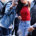 Selena Gomez de rojo