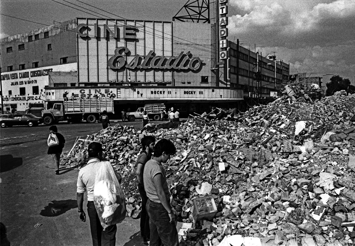 Temblor Sept. 1985.