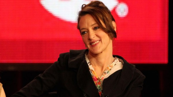 XXX of the television show 'Shameless' speaks during the Showtime portion of the 2012 Television Critics Association Press Tour at The Langham Huntington Hotel and Spa on January 12, 2012 in Pasadena, California.