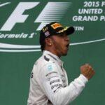 Lewis Hamilton ya es tricampeon