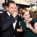 Video: Kate Winslet felicita a Leonardo Di Caprio al ganar su SAG Award