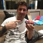 Messi se burla del supuesto auto que compro