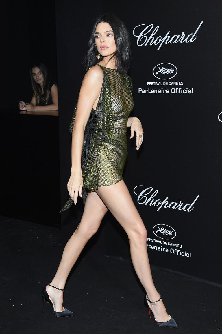 Kendall Jenner Y Su Vestido Transparente En Cannes